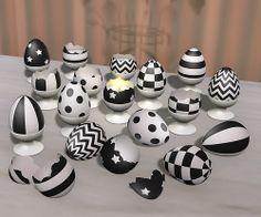 black eggs | Flickr - Photo Sharing!