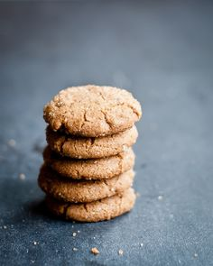 Chewy Spice Cookies #vegan #gluten_free