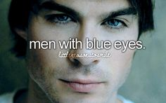 men with blue eyes