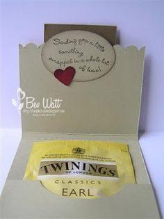tutorial tea bag holder