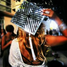 #graduation cap... created with mirrors