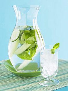 Mint Cucumber Water