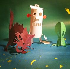 Paper Monsters 1