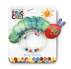 Amazon.com: Baby/Infant/Child/Kid Kids Preferred The World of Eric Carle: The Very Hungry Caterpillar Ring Rattle Newborn Gear: Baby
