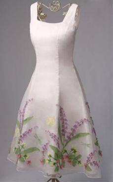 """Garden Party"" dress"
