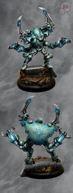 40k - Eldar Warp Spider Exarch