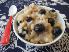 Breakfast grains // weelicious -- a basic recipe that you can adapt to your own preference
