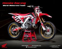 Honda CRF 450R World Motocross Team 2013