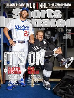 Dodgers Blue Heaven: Watch a Behind the Scenes Video of the SI Photo Shoot with Kershaw and Kopitar