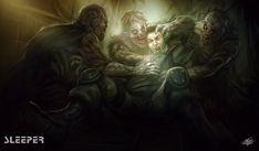 SLEEPER-Orphans of the Cold War-Illustration#6 by mlappas.deviantart.com