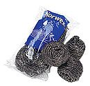 AMAZING on stainless steel pots & pans.  Will never use anything else again.  Amazing.  Norwex Spirinetts.