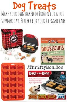 Doggie Treat maker, Freeze or  bake your own dog treats with this fun kit #Dogs, #Pets, #Treats