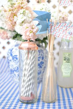 french style baby shower, gender neutral