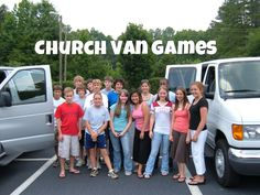 Games To Play While Taking a Trip In The Church Van