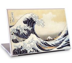 """The Great Wave by Katsushika Hokusai for the 17"""" MacBook Pro"""