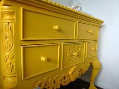 repainted furniture | must have wear: .repainting old furniture