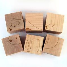 Animal Block Puzzle by littlesaplingtoys