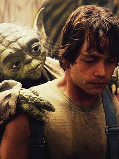 Yoda & Luke...