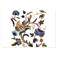 a possible party invite inspiration - looks like handwork / tapestry