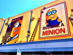 Recruiting Posters for Minion Mayhem at Universal Studios Orlando