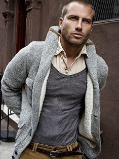 Grey hoodie, shirt an t shirt