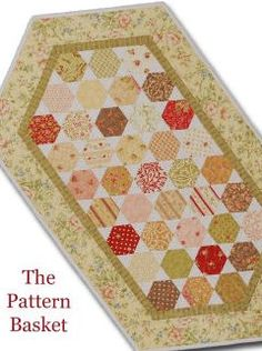 Table toppers on pinterest for 10 minute table runner pattern