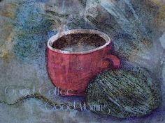 Good Coffee-Good Morning-artwork by Pamela Hunt pamela hunt