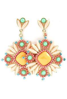 Coral Dreams Boho Earrings ♥