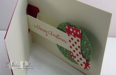 Moving Cards: Stocking Pop-Up Christmas Card!