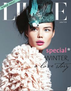 new magazine! eco fashion and recipes #lilliemag