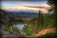 Lake Mary Trail, Wasatch Mountains, Utah