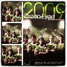 FLASHBACK: 2009 Canberra Raiders season guide, with Troy Thompson, Terry Campese, Alan Tongue, Joel Monaghan and Joe Picker.