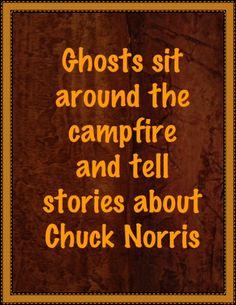 Chuck Norris...badass.