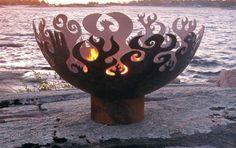 A fire bowl