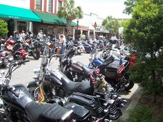 Leesburg Bikefest. Leesburg, Florida, went there when Molly Hatchet played on the steps of City Hall.