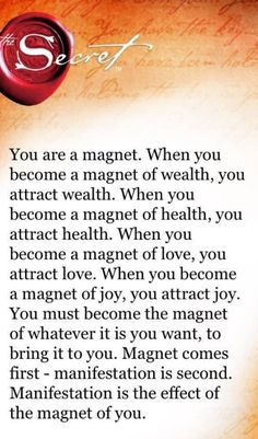 So true-law of attraction