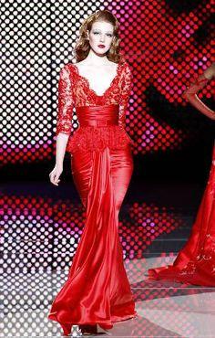ZUHAIR MURAD. I love red! <3