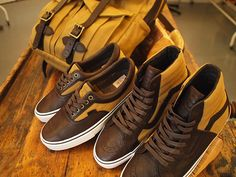 Vans x Filson collection