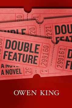 """Owen King's debut novel, Double Feature will hit stores on March 19, 2013.    Here is the synopsis:    """"Endearing, irascible Sam Dolan is a young filmmaker with a big father problem—that is, his dad, B-movie actor Booth Dolan, has a personality that's a big problem."""