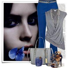 Pantalon azul