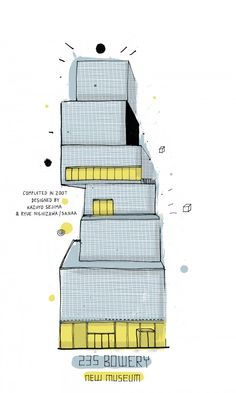 drawings of nyc | buildings | sketches