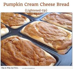 Pumpkin Cream Cheese Bread on http://www.thisiswhyimfull.com