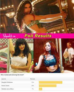 Deepika Padukone beats Sunny Leone and Malaika Arora Khan to become the hottest pole dancer in B-town! #DeepikaPadukone  #AroraKhan