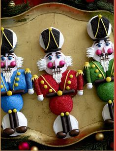 Christmas Eve Nutcracker Cupcakes