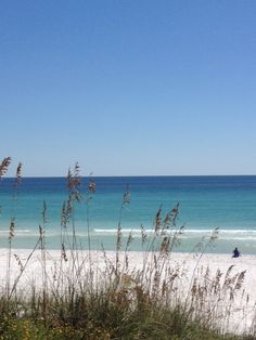 30a Beaches in the Fall