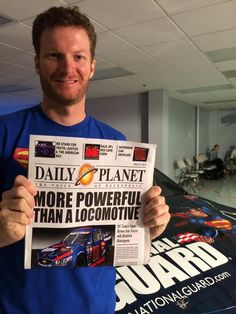 "Previous pinner says: ""Made the front page of the Daily Planet!""  @Evelyn Spencer Guard @D C Comics pic.twitter.com/ACdXnMeoyh #dalejr"