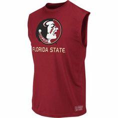 Florida State Seminoles Garnet Rush Performance Sleeveless T-Shirt