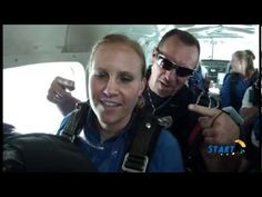 StartSkydiving.com: Kara Graham    My first experience Sky Diving!! Awesome and I'd do it again in a heartbeat!