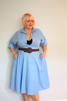 super cute vintage dress (sz 16/18)
