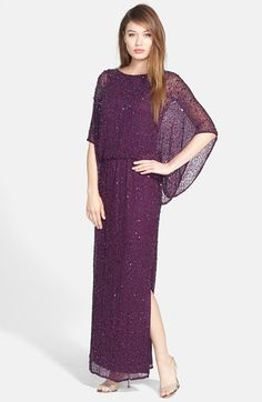 Patra Embellished Silk Blouson Gown available at #Nordstrom $208